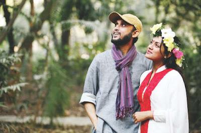 Nusrat Imroz Tisha & Husband