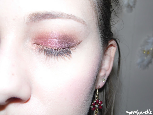 makeup yeux prune