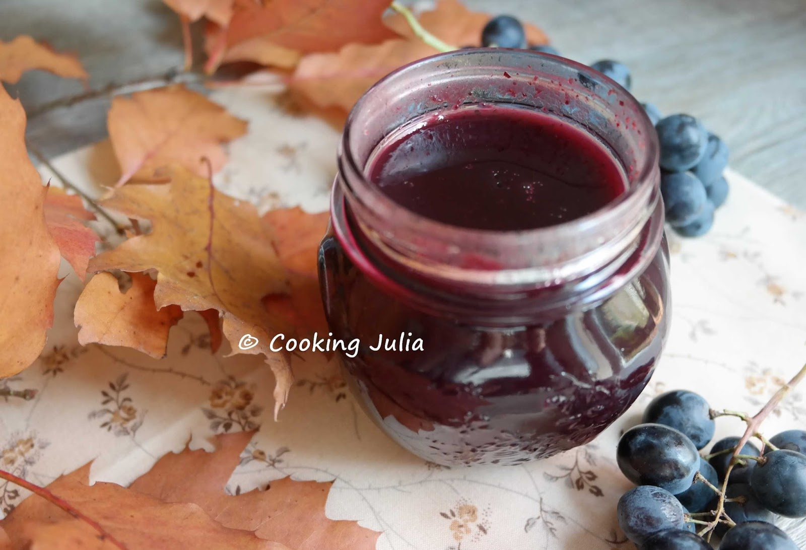 confiture ou gelee de raisin