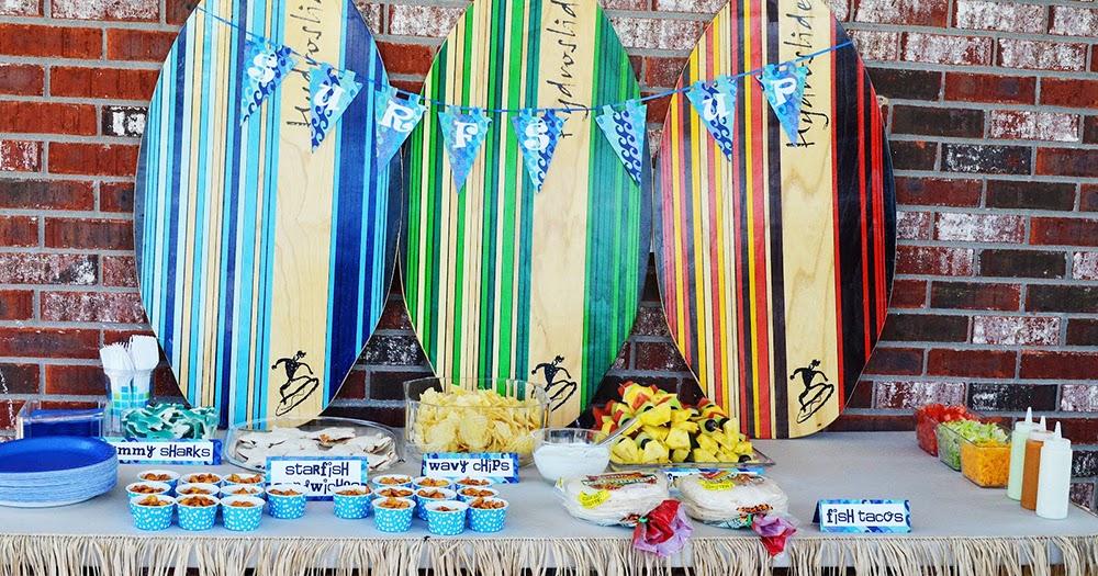 Organizzare una festa a tema surf tutte le dritte - Decoracion surfera ...