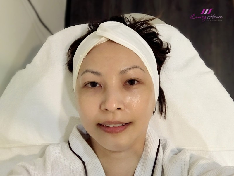 eha skincare radiance facial toning medi facial review