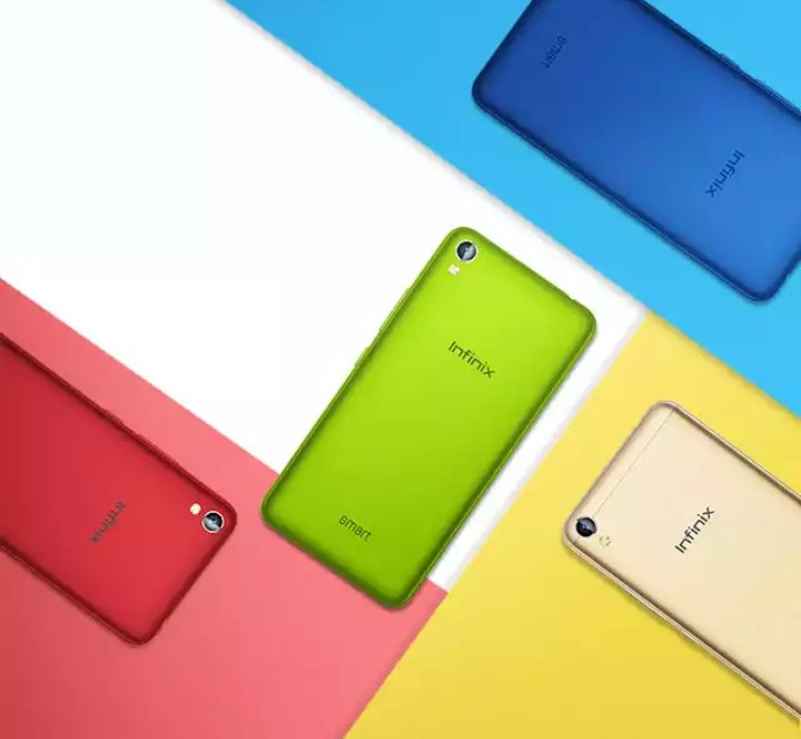 Infinix smart X5010 various colours on jumia