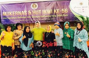 Ketua IKWI Sulsel,Utamakan Kebersamaan Dalam Organisasi