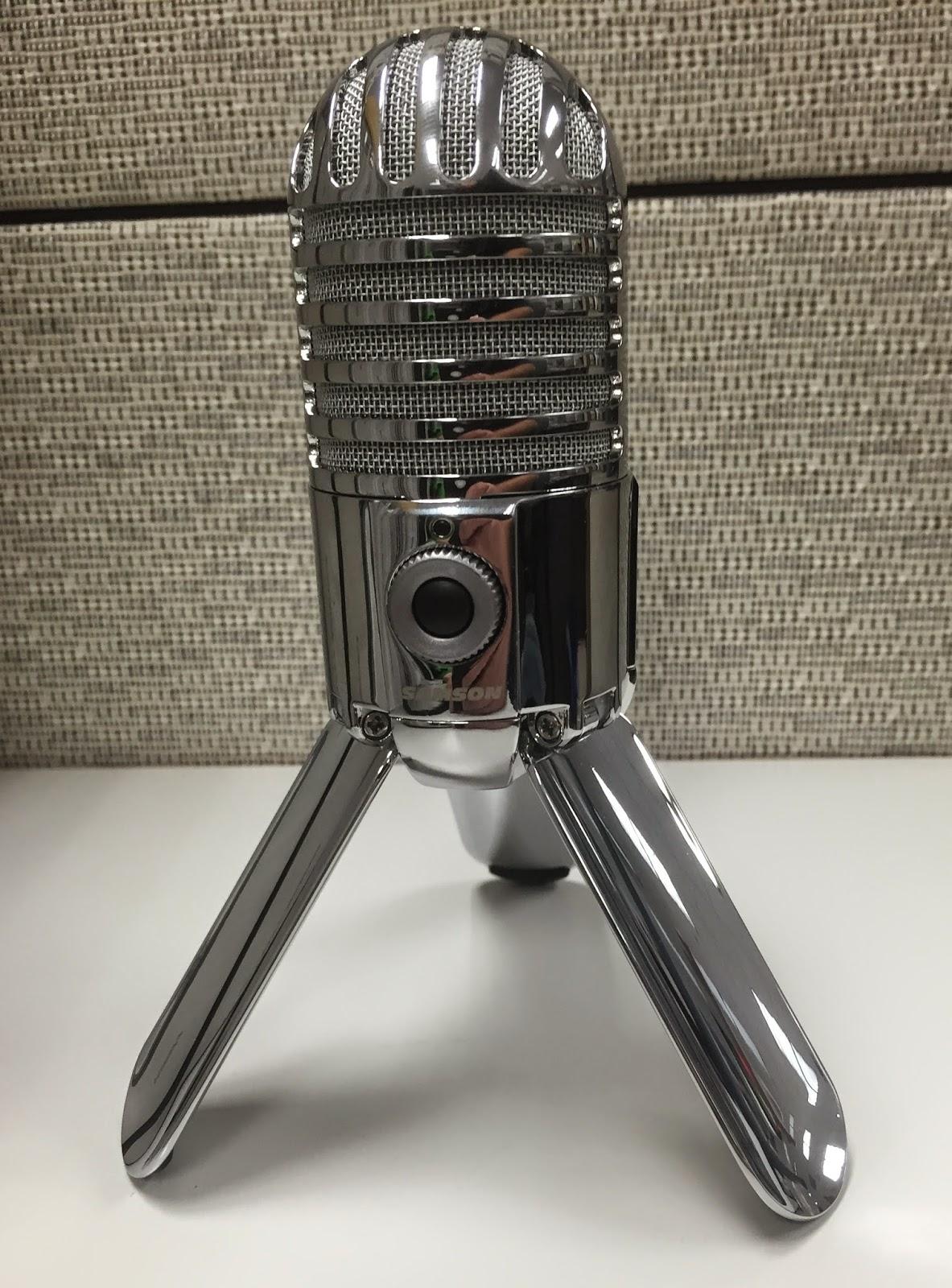 Meteor driver samson mic