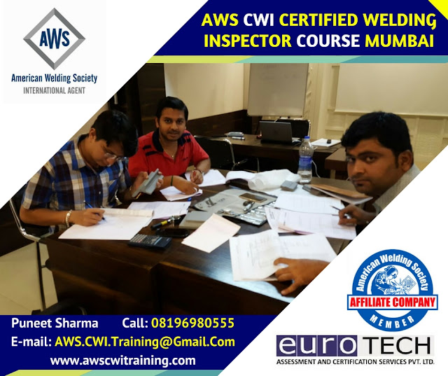 AWS Certified Welding Inspector Training Course  Mumbai