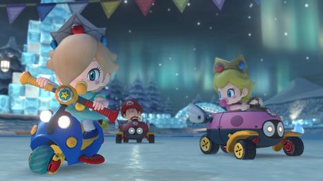 Christmas Mario Kart.The 24 Games Of Christmas Day 23 Mario Kart 8 Digitally