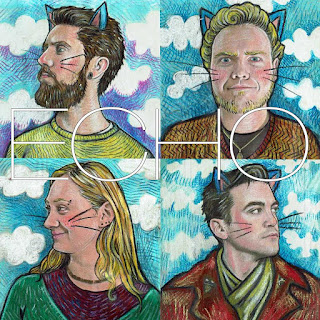 Album Cover Echo Chase Nova Illustration