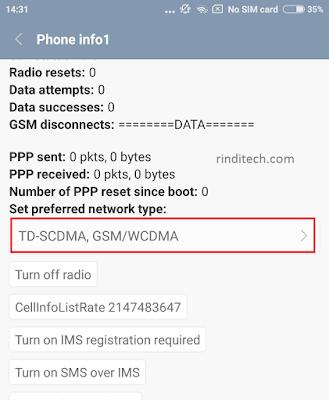 Berikut ini adalah cara memunculkan sinyal  Tanpa Cabut Kartu! Begini Cara Memunculkan Sinyal 4G di MIUI 8 (No Root, No UBL)