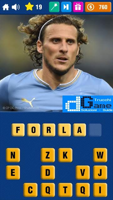 Calcio Quiz 2017 soluzione livello 11-20 | Parola e foto