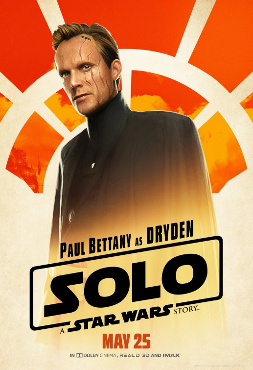 Solo Star Wars Dryden Vos poster