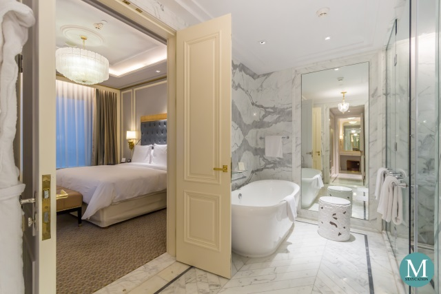 Bathroom of the Executive Suite at Four Seasons Hotel Jakarta