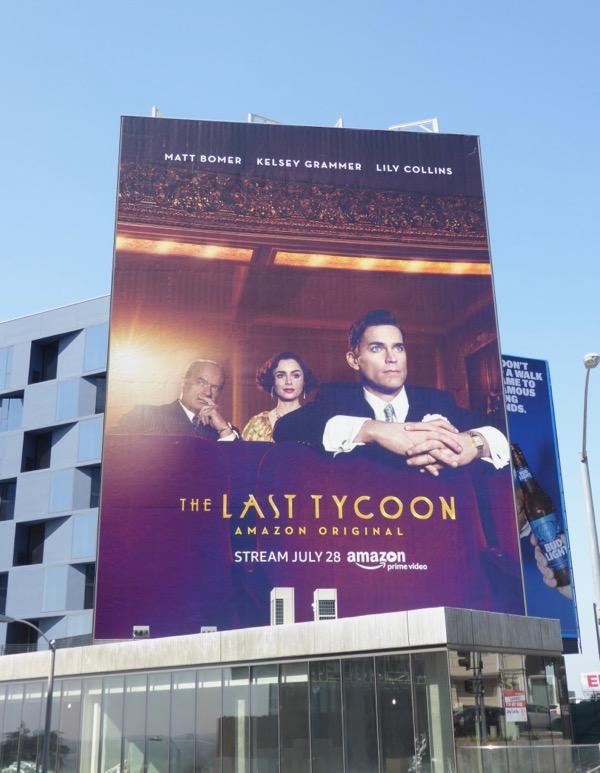 Last Tycoon series premiere billboard