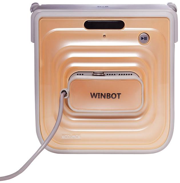 robot para la limpieza de cristales es el Ecovacs Winbot W710