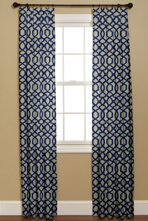 Chinoiserie Chic Blue And White At Curtainsmade4u