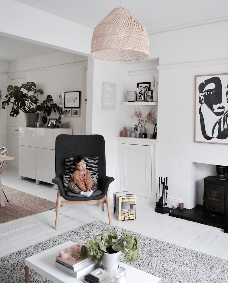 A Simple, Relaxed, Happy Family Home With Scandinavian Touches