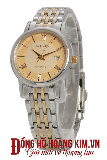Đồng hồ đeo tay nam citizen dây inox giá rẻ dưới 2 triệu