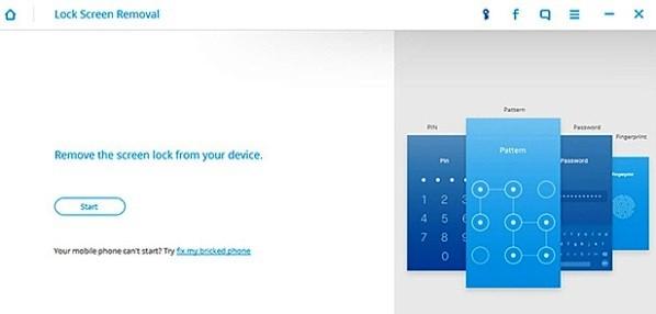 dr.fone toolkit - Blocco Android rimozione dello schermo