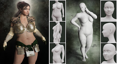 LY Fantasy Races HD Faces and Bodies