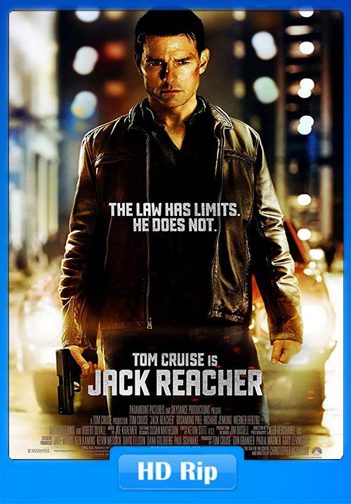Jack Reacher 1 2012 720p Hindi Dubbed Movie HDRip x264 | 480p 300MB | 100MB HEVC