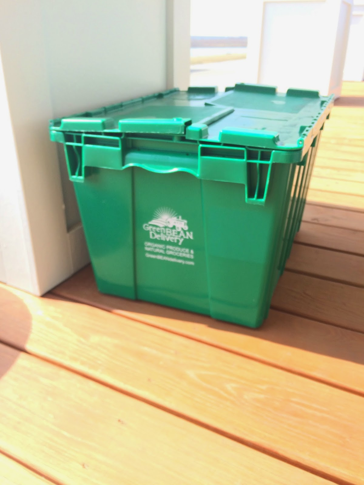 Green Bean Delivery crate