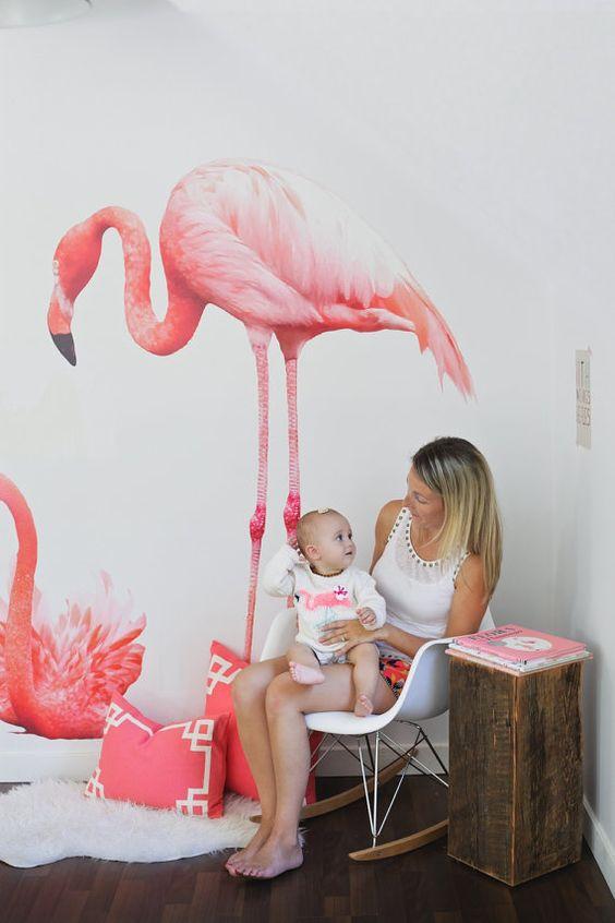 Coastal Style Pink Flamingo Fever