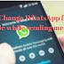 Cara Menggunakan gaya Font WhatsApp yang berbeda saat mengirim pesan (Tebal, miring dan tercoret)