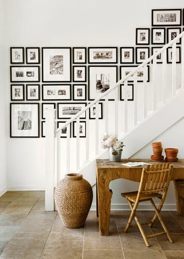 50 Creative Staircase Wall decorating ideas, art frames ... on Creative Staircase Wall Decorating Ideas  id=83802