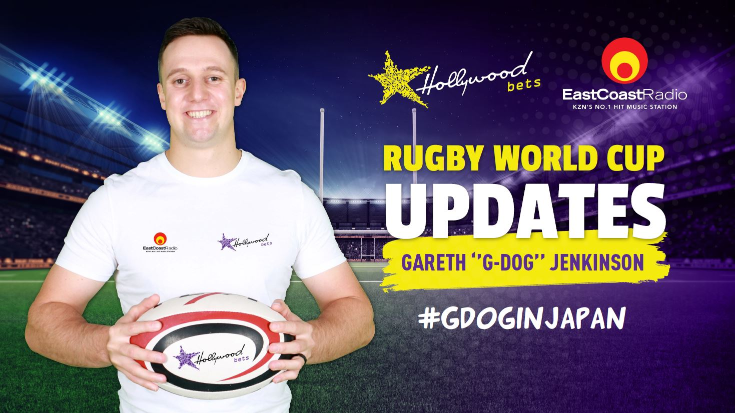 Rugby World Cup 2019 updates with Gareth Jenkinson - #GDogInJapan