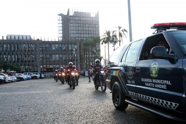 Forças de Segurança de Santo André realizam Operação Citadel com foco no Centreville