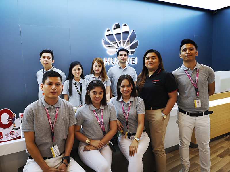 Huawei Glorietta team