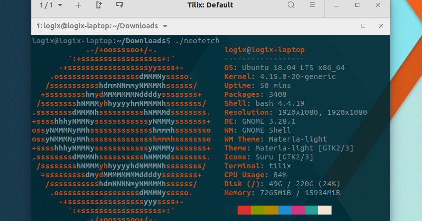 Display System Information On Linux With Neofetch (Version 4 0 0