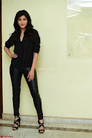 Shruti Haasan Looks Stunning trendy cool in Black relaxed Shirt and Tight Leather Pants ~ .com Exclusive Pics 046.jpg
