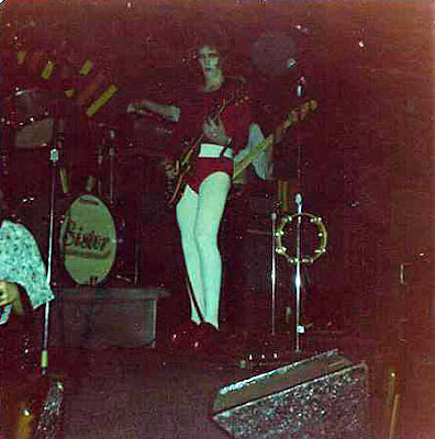The original Twisted Sister lineup performing at Casper's rock club around 1973. This lineup was together from 1972 - 1974.