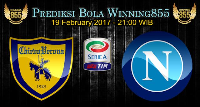 Prediksi Skor Chievo vs Napoli 19 February 2017