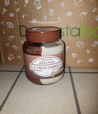Crema de Avellanas La Vieja Fábrica Caja Degustabox Julio ´16