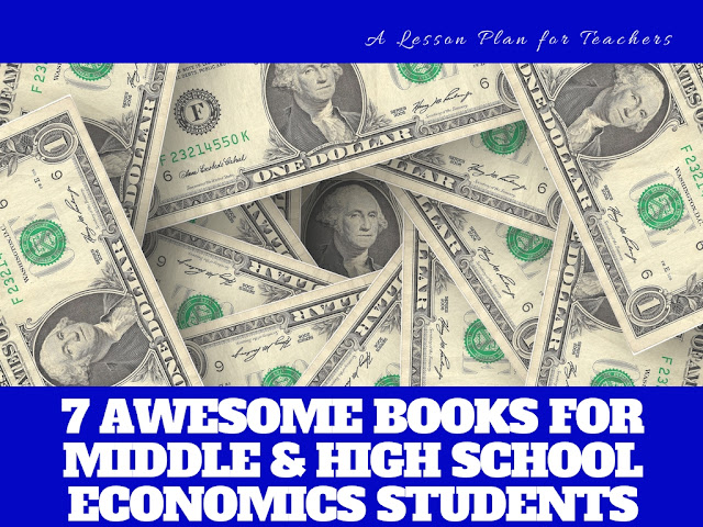 I love these awesome books for helping teach economics concepts to my middle and high school students. They help to introduce the finance and math subjects in a way to reach more kids in my classroom. I especially love the first one!