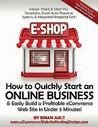 How to Quickly Start an Online Business & Easily Build a Profitable eCommerce Web Site in Under 5 Minutes!