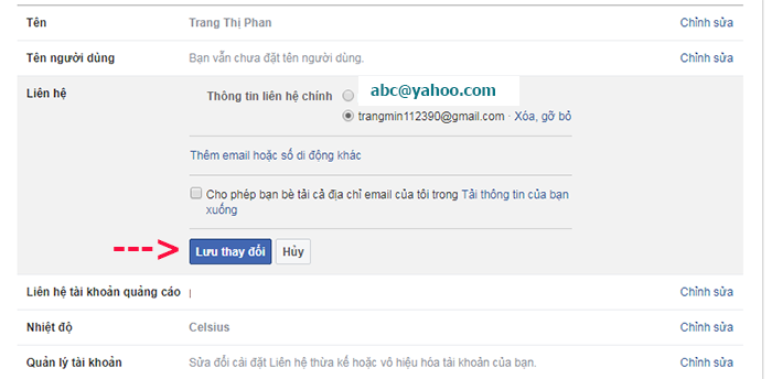 doi dia chi yahoo thanh gmail tren facebook 8