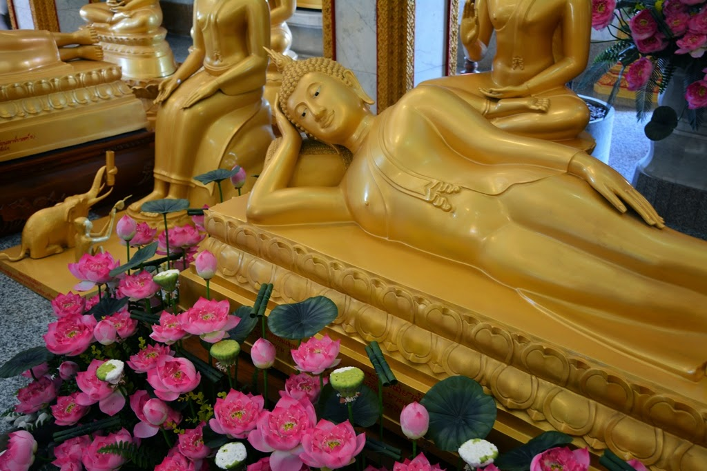 Wat Chalong Temple Phuket reclining