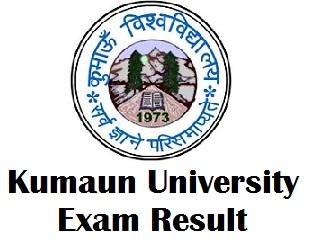 Kumaun University Uttarakhand Result 2018
