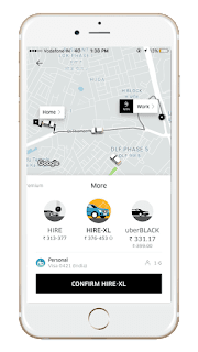 UberHIRE XL makes its way to the capital