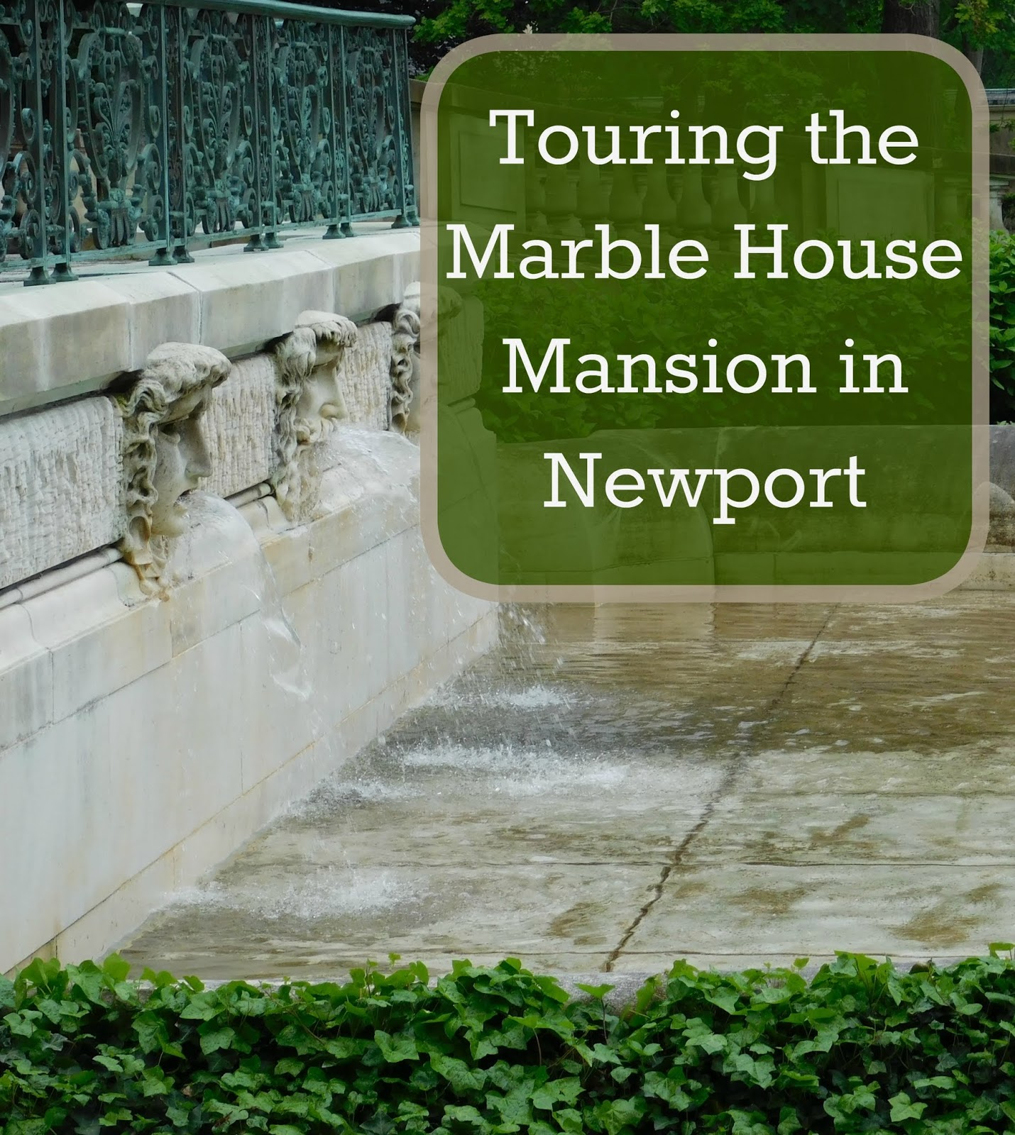 our unschooling journey through life: touring a newport mansion!