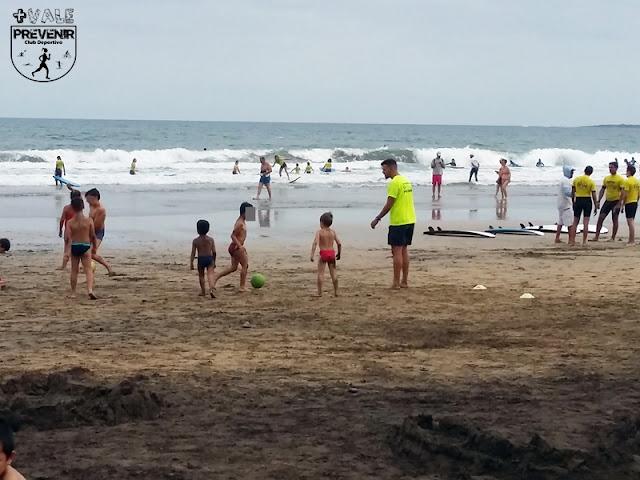 playa canteras deporte