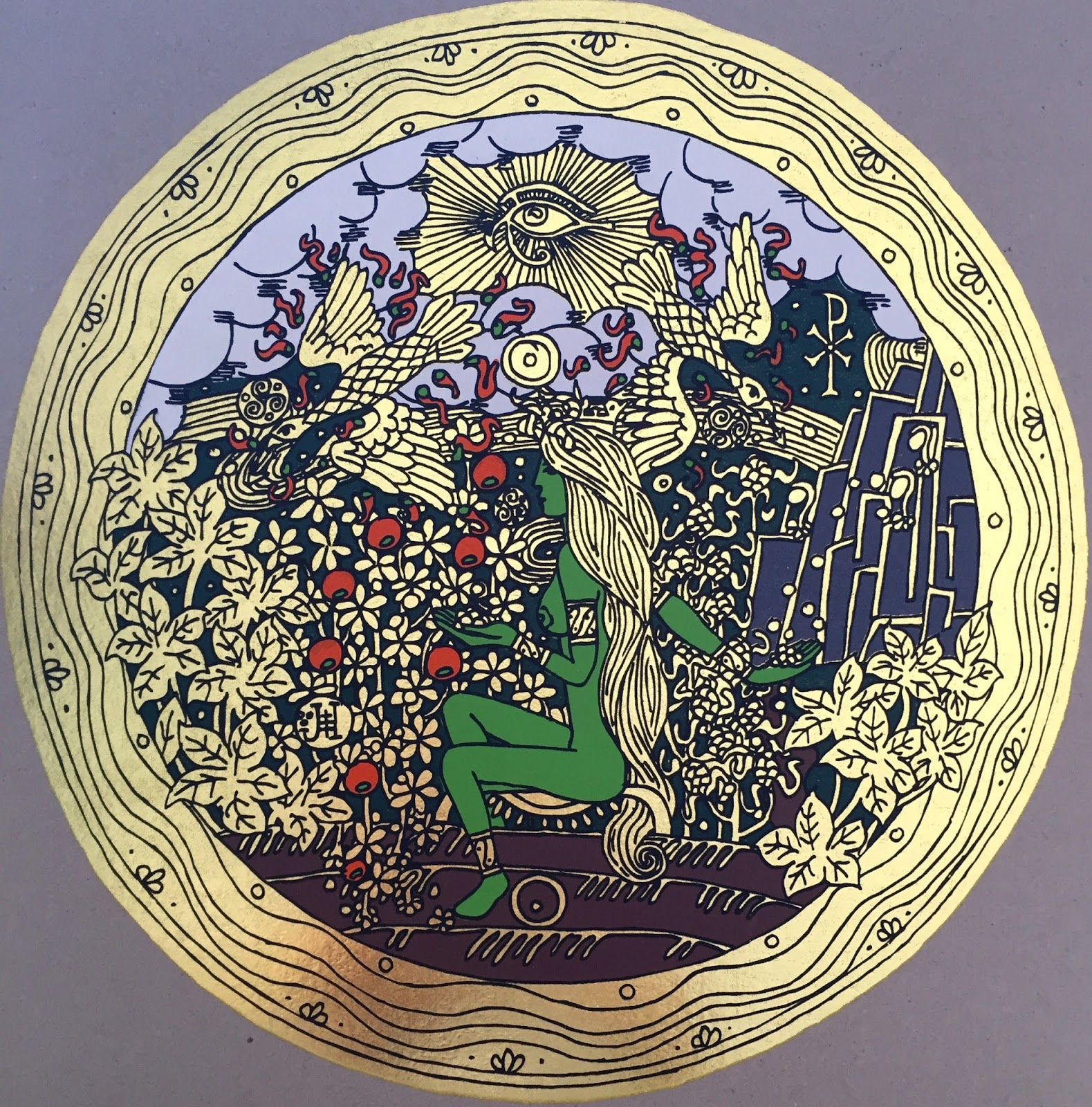 Obraz Kristův zlatý rozsévač