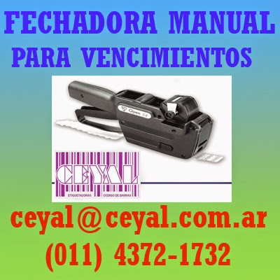 Etiqueta adhesiva Av. Montes de Oca