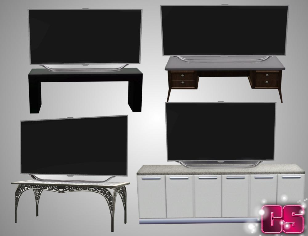 My Sims 3 Blog: Samsung 3D LED Smart TV Series 8 by Anita
