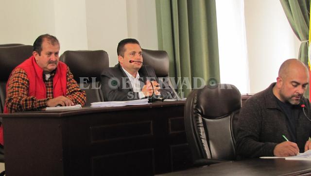 Alcalde Malo instaló último periodo de sesiones ordinarias del Concejo