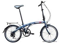 Sepeda Lipat FoldX Nagoya 7 Speed Shimano 20 Inci