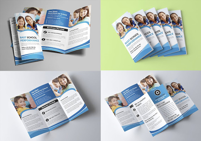 Design PSD open brooch ready for adjustable school design