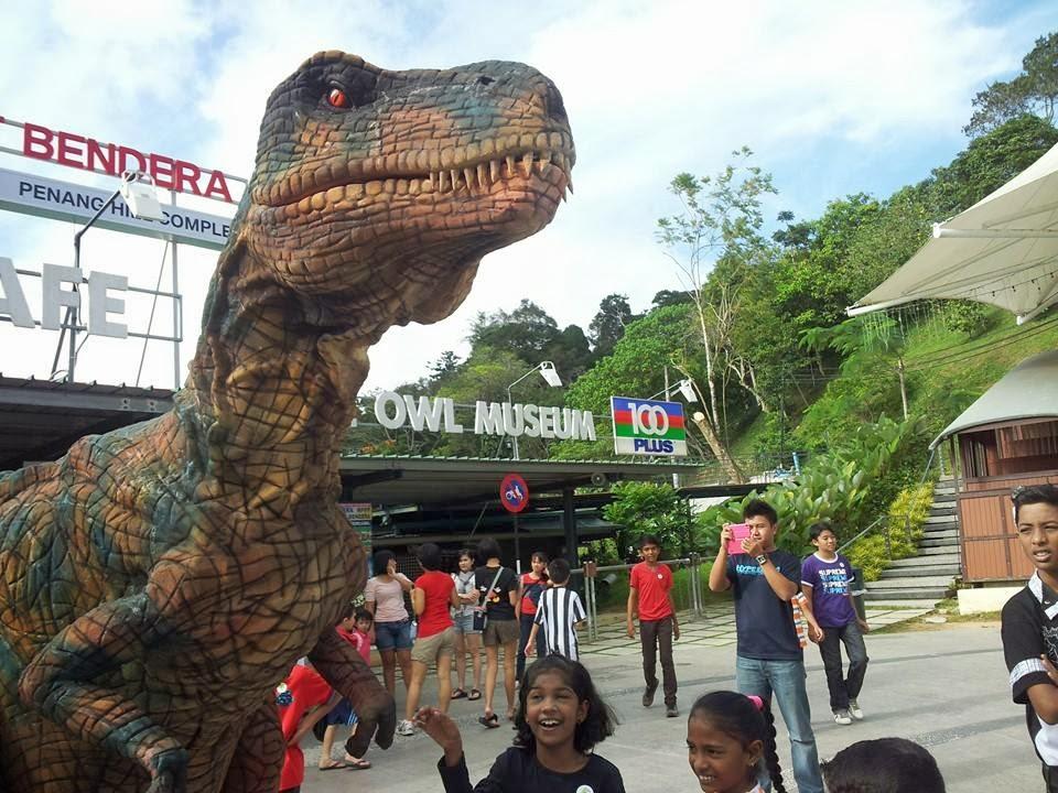 Penang Hill Dinosaur & Aviary Garden